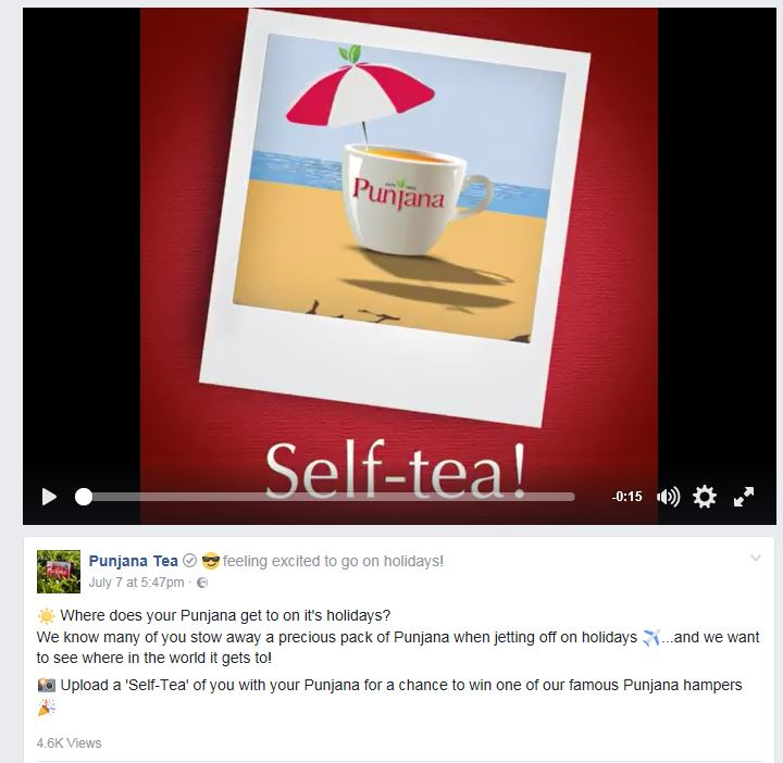 Self-Tea