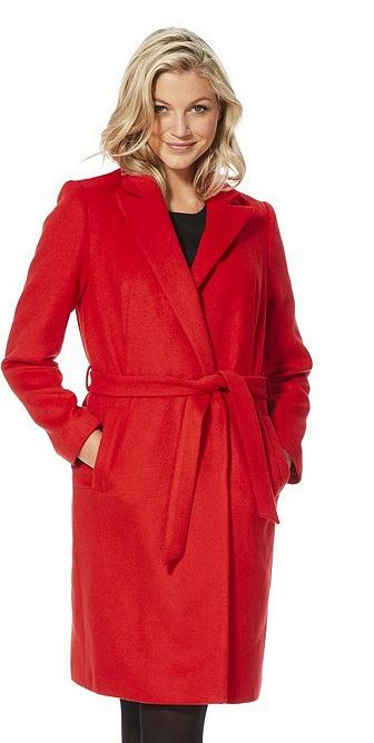 tesco red coat
